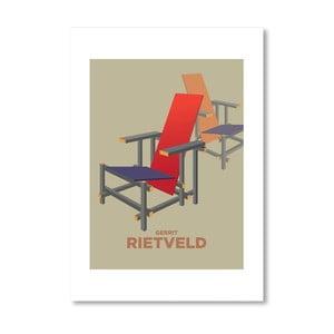 Autorský plakát Rietveld