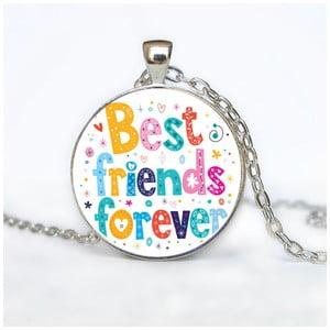Dámský řetízek s přívěskem Butoni de Camasa Best Friends Forever