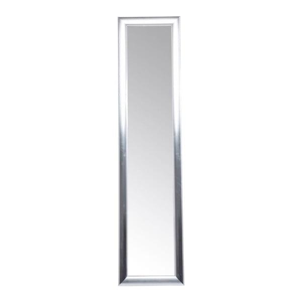 Volně stojící zrcadlo ve stříbrné barvě Kare Design Modern Living, výška 170 cm