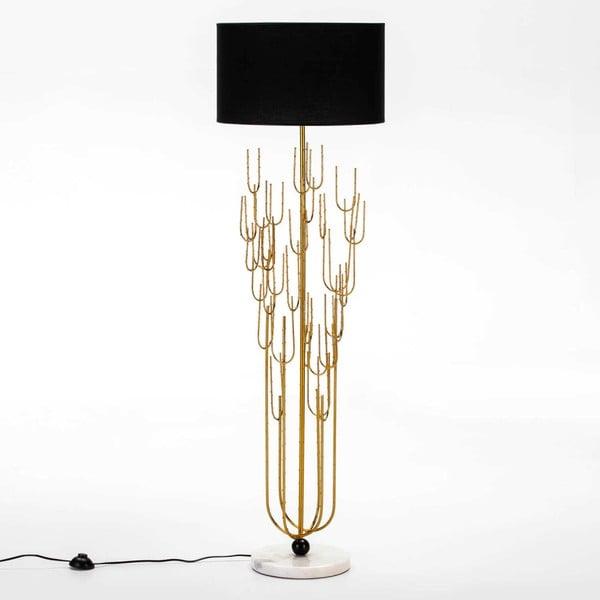 Volně stojící lampa s mramorovou základnou bez stínítka Thai Natura Cactussino