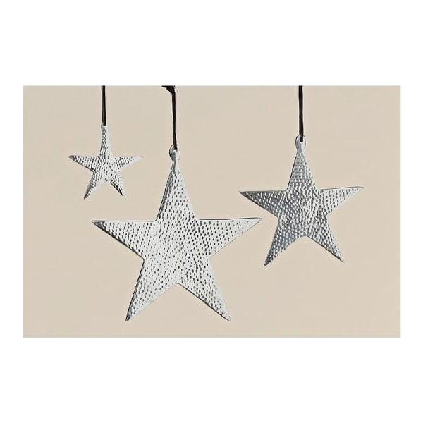 Závěsná dekorace Star, 3 ks