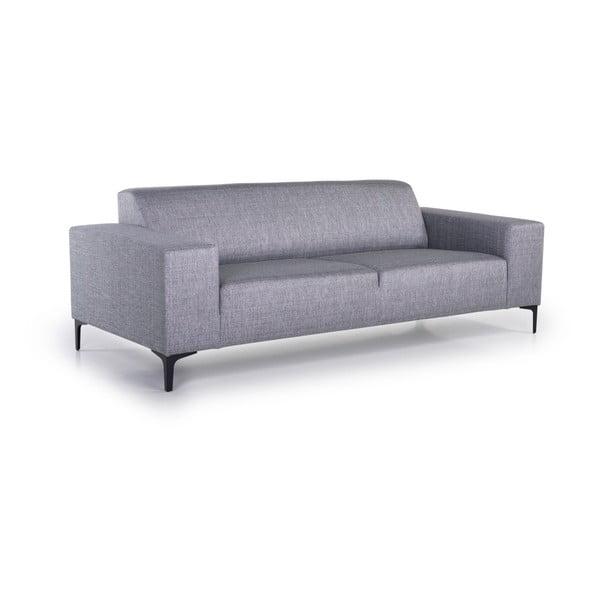 Diva világosszürke háromszemélyes kanapé - Softnord