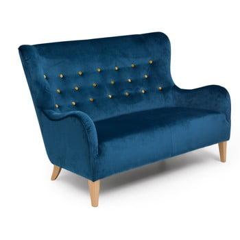 Canapea 2 locuri Max Winzer Medina, albastru de la Max Winzer