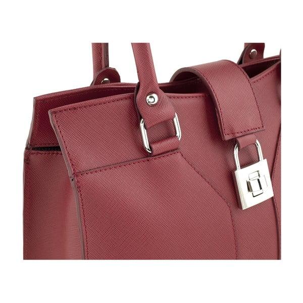 Kožená kabelka Marlene, red