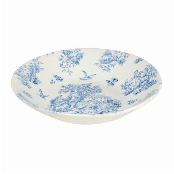 Hluboký talíř Churchill China Toile Blue de Jardin, 24 cm
