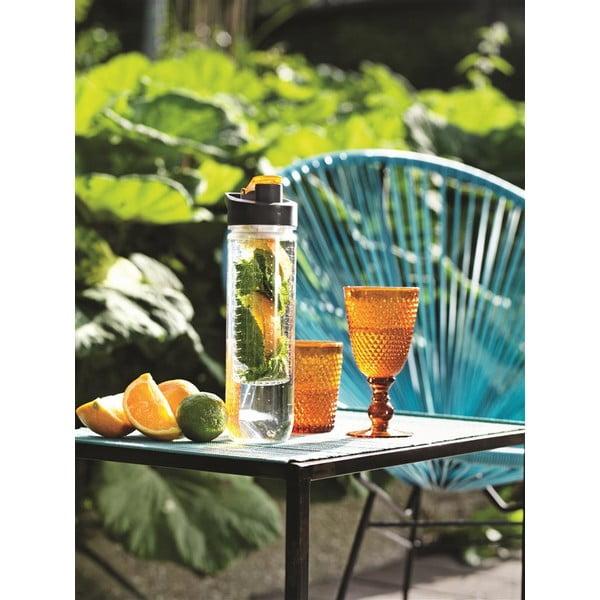 Oranžová lahev se sítkem XD Design Loooqs