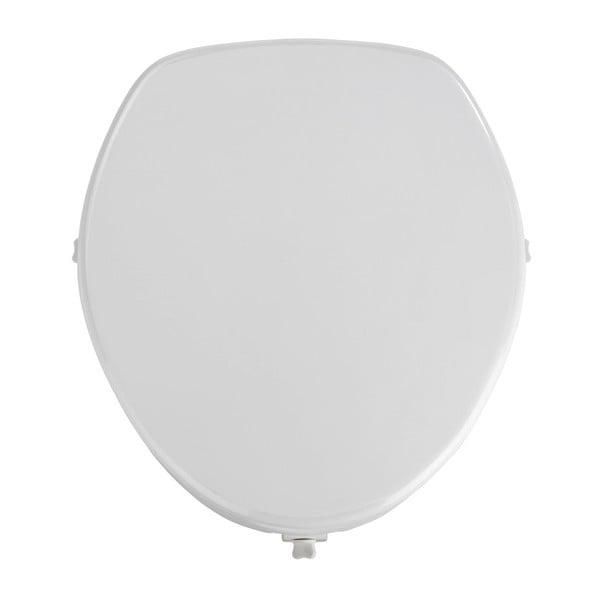 Zvýšené WC sedátko se snadným zavíráním pro seniory Wenko Secura, 44 x 41,5 cm