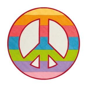 Ručně tkaný koberec Joy Peace, 150x150 cm