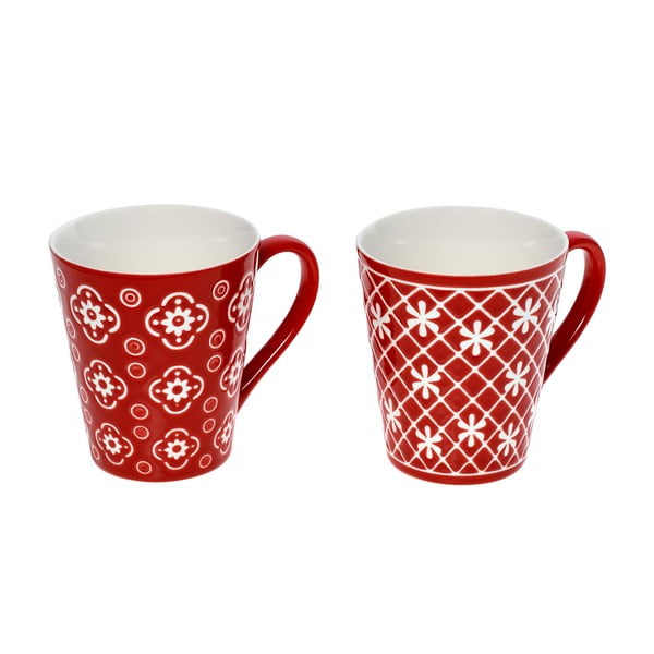 Sada 2 hrnků InArt Porcelain, 320 ml