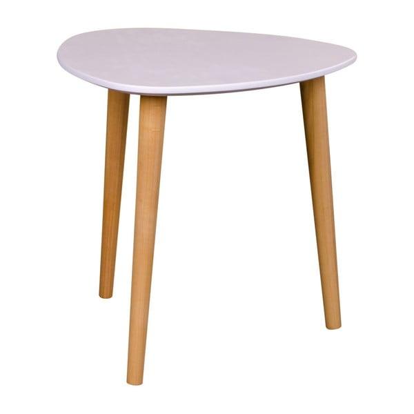 Bílý odkládací stolek House Nordic Genova, výška 39,5cm