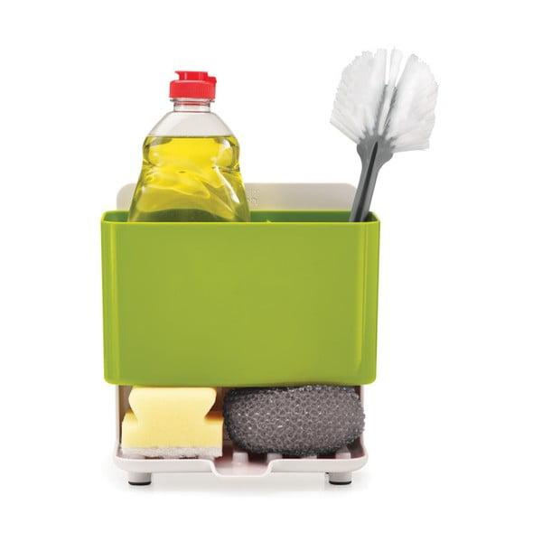 Recipient pentru detergenţi de vase Joseph Joseph Caddy Tower, verde