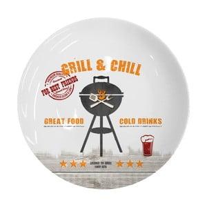 Porcelánový talíř PPD Grill And Chill, ⌀27cm