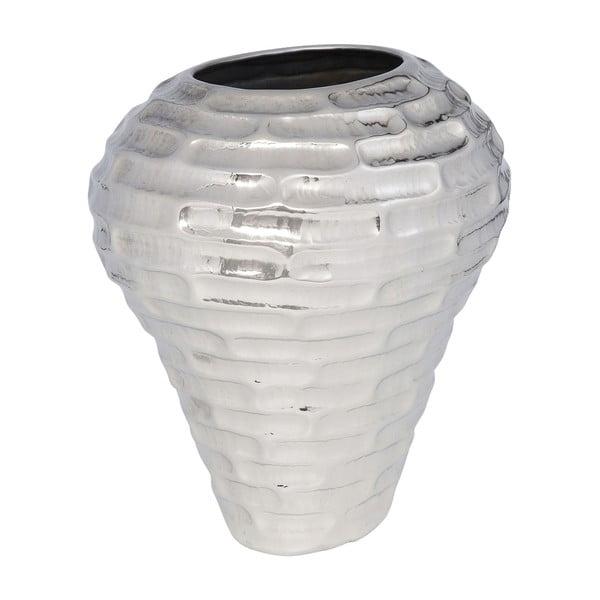 Bílá oválná váza Kare Design Sait Tropez, výška 40 cm