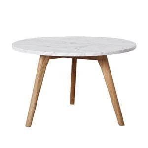 Konferenční stolek Fiord Marble, 50x45 cm