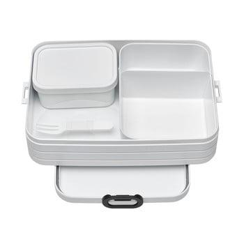 Set caserole pentru prânz Rosti Mepal Nordic Large, alb imagine