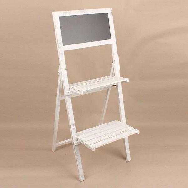 Dřevěný stojan s tabulí Dakls, světlý