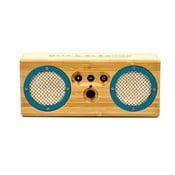 Přenosný bambusový speaker Turqoise Bongo