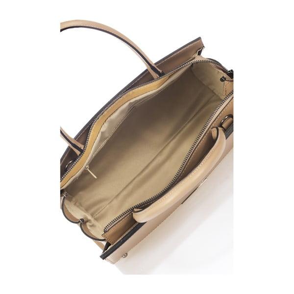 Kožená kabelka Advik, taupe