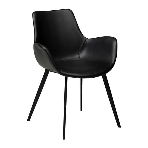 Hype fekete fotel öko bőrből - DAN–FORM Denmark