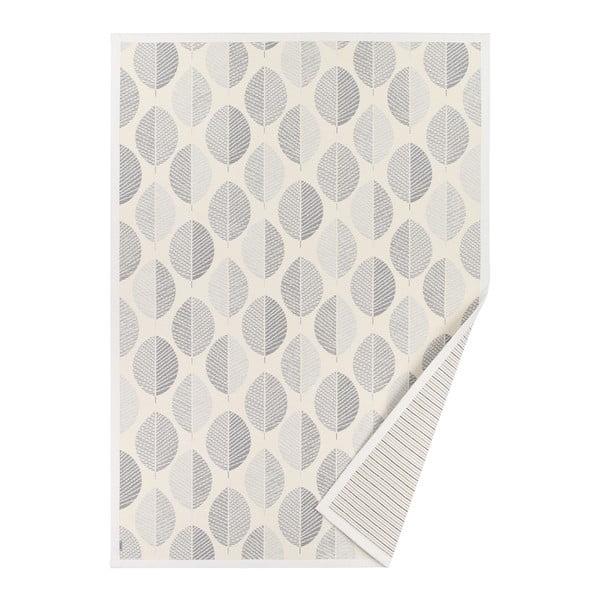 Bílý vzorovaný oboustranný koberec Narma Pärna, 160x100 cm