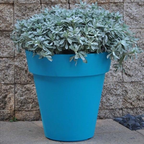 Květináč Samantha 38x38 cm, modrý
