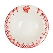 Farfurie Comptoir de Famille Damier, 20 cm, roșu - alb