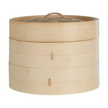 Coș bambus pentru gătit la abur Premier Housewares, ⌀ 20 cm imagine