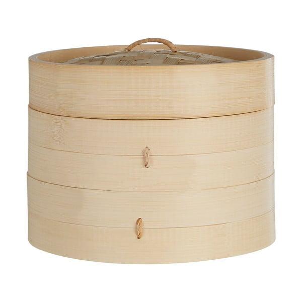 Coș bambus pentru gătit la abur Premier Housewares, ⌀ 20 cm