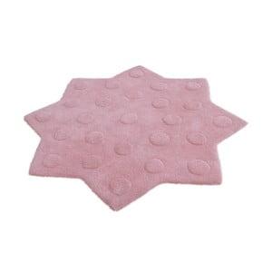 Dětský růžový koberec Stella, 90 cm