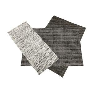 Černobílý koberec Kare Design Collage, 365x315cm