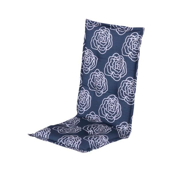 Saltea scaun grădină Hartman Peonie, 123 x 50 cm, albastru
