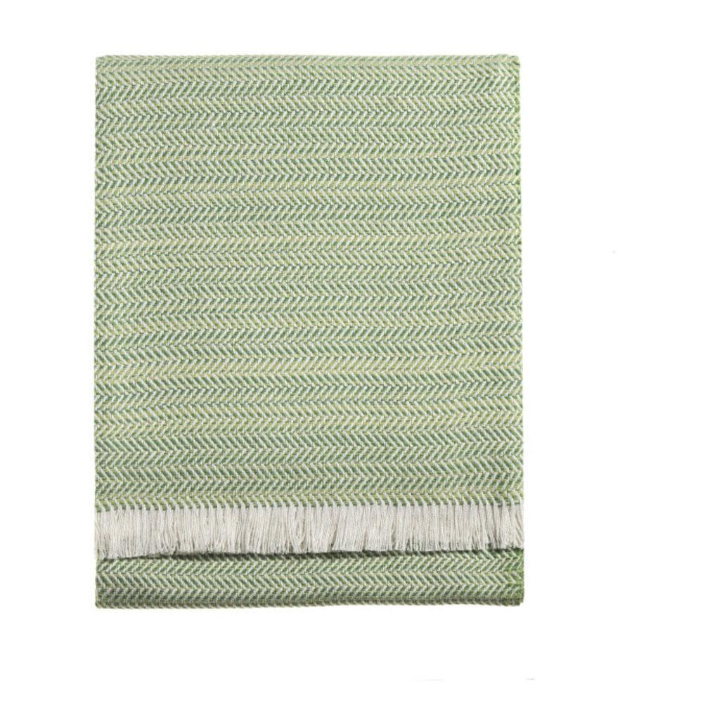 Zelená deka Euromant Summer Toscana, 140 x 180 cm