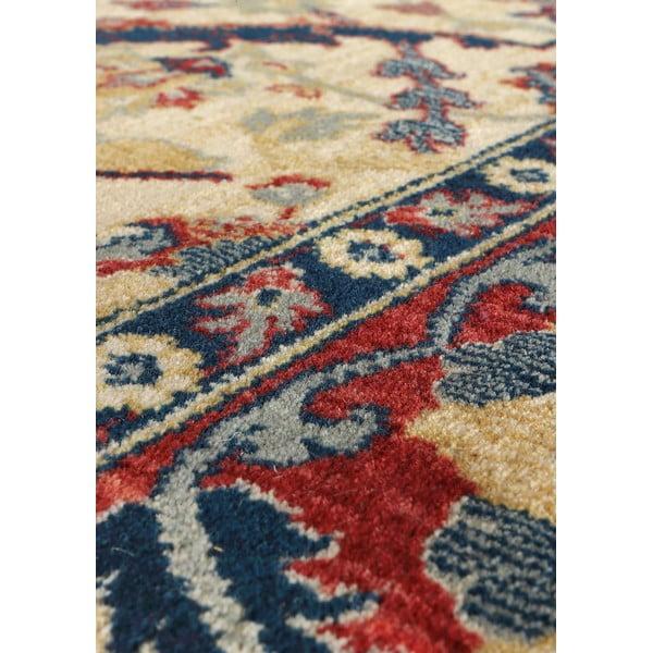 Vlněný koberec Ibai, 140x200 cm, béžový