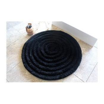 Covoraș de baie Alessia Round Black, Ø 90 cm de la Chilai Home by Alessia