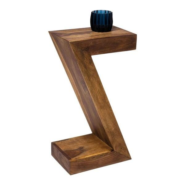 Príručný stolík z palisandrového dreva Kare Design Authentic