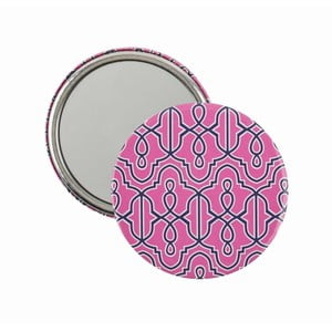 Kapesní zrcátko Pink Hydrangea