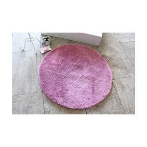 Fialová koupelnová předložka Confetti Bathmats Colors of Lilac, ⌀ 90 cm