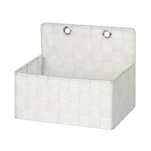Bílý koupelnový organizér Wenko Adria