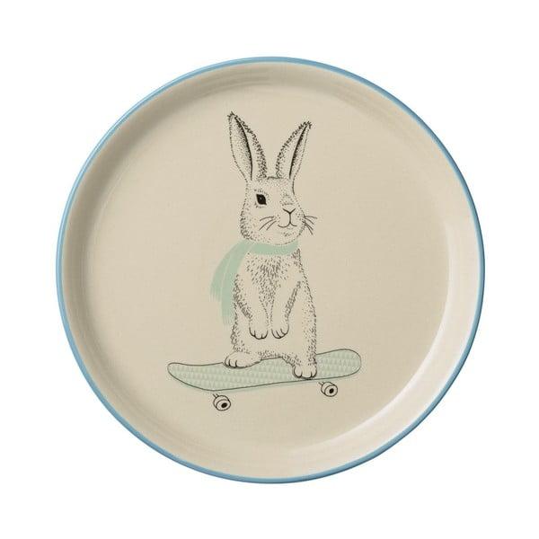 Farfurie din ceramică pentru copii Bloomingville Marius, ⌀ 25 cm