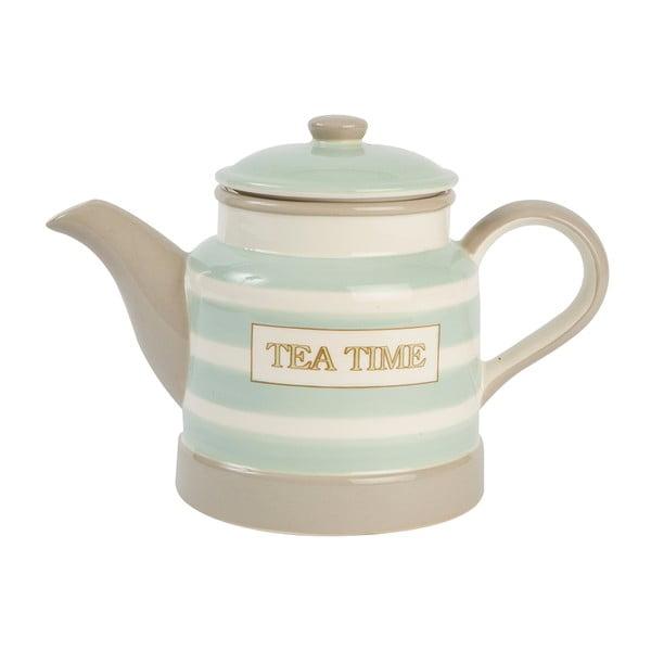 Čajová konvička T&G Woodware Mint Stripe, 1l