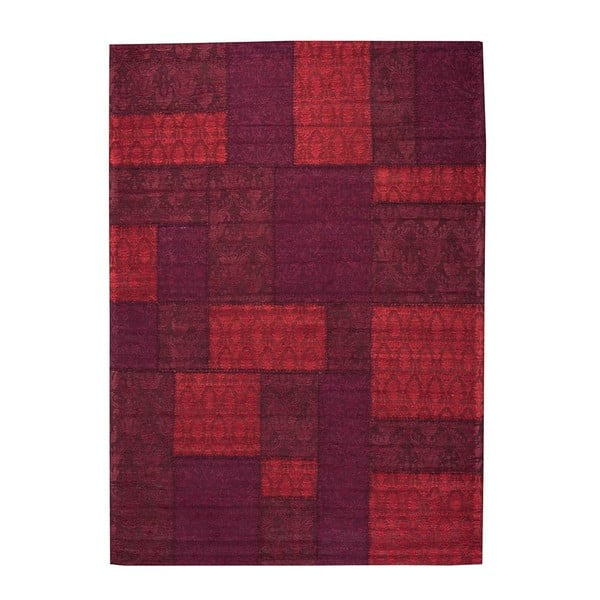 Koberec Patchwork 9 Red, 140x200 cm
