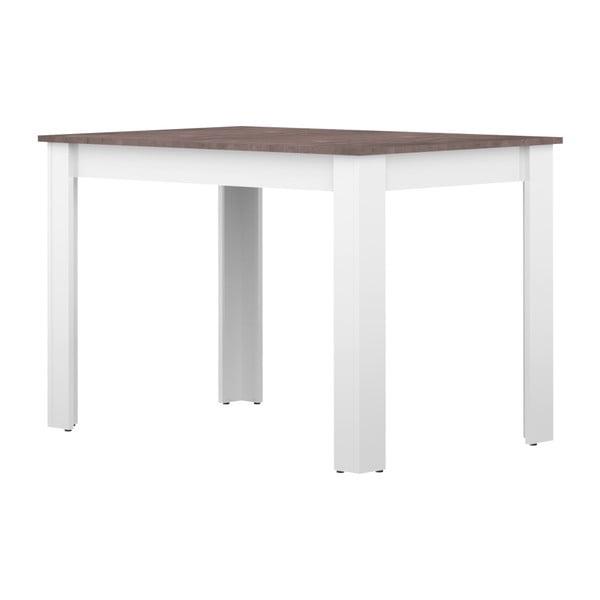 Nice fehér-szürke étkezőasztal - Symbiosis