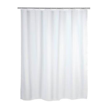 Perdea de duș Wenko Simplera, 180 x 200 cm, alb imagine