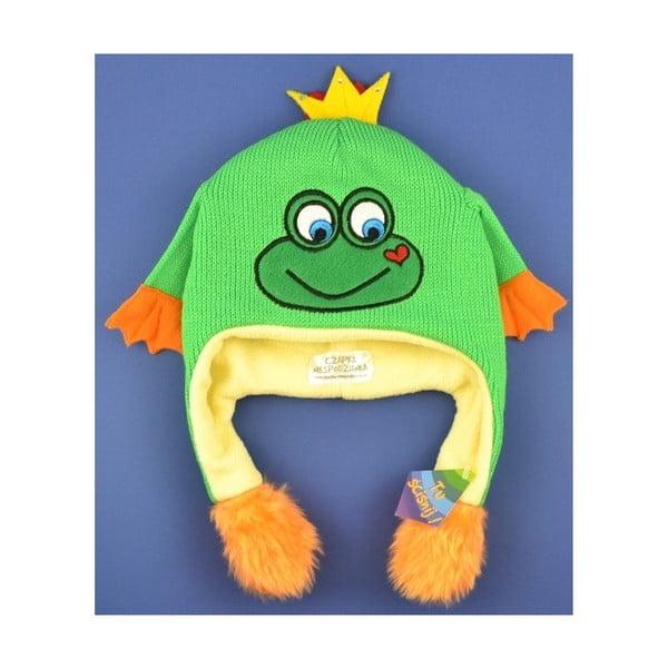 Dětská čepice Frog