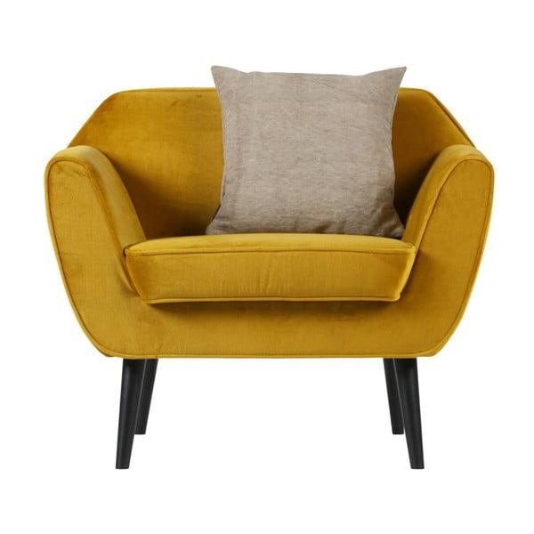 Rocco Cool sárga fotel - WOOOD