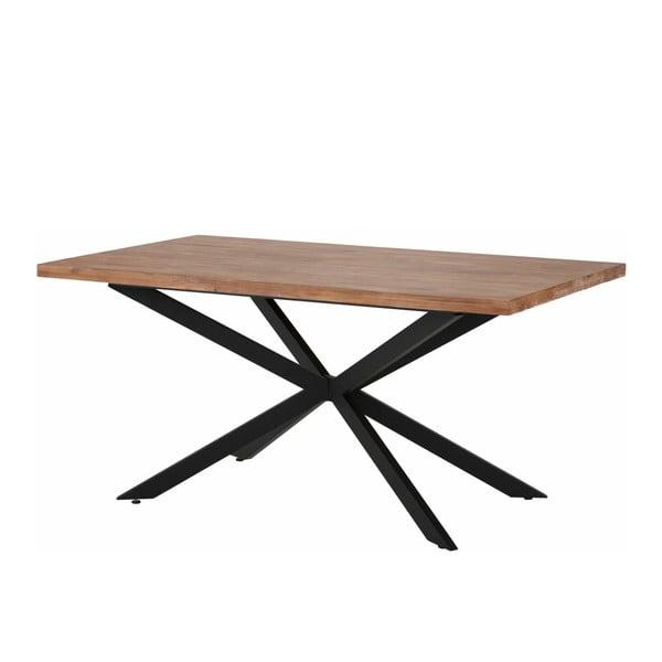 Jídelní stůl v přírodním dekoru Støraa Adrian, 160 cm