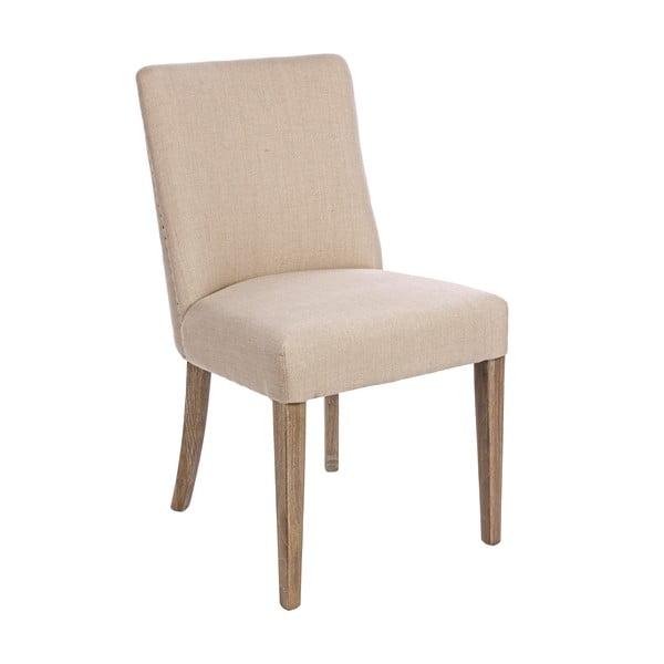 Krémová jídelní židle Bizzotto Schienale