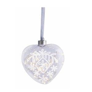 Svítící srdce Nice, 14 cm