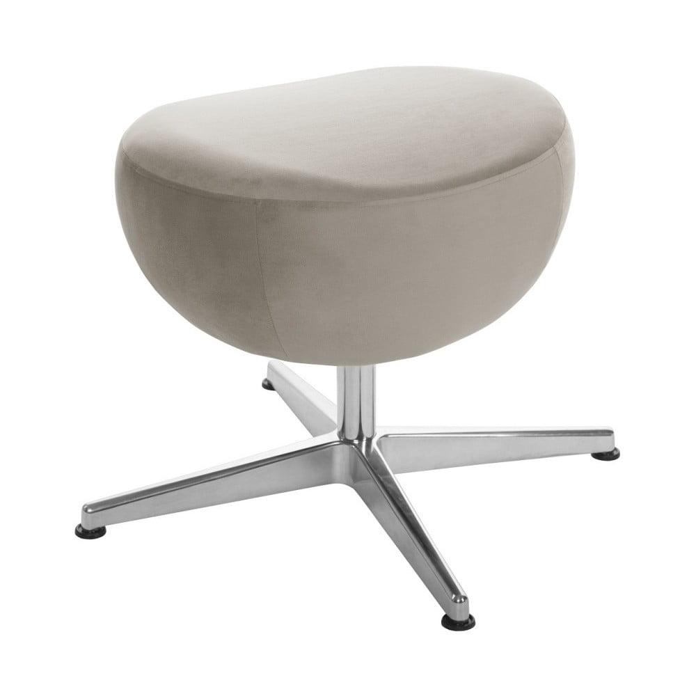 Šedohnědá otočná stolička/podnožka My Pop Design Monory