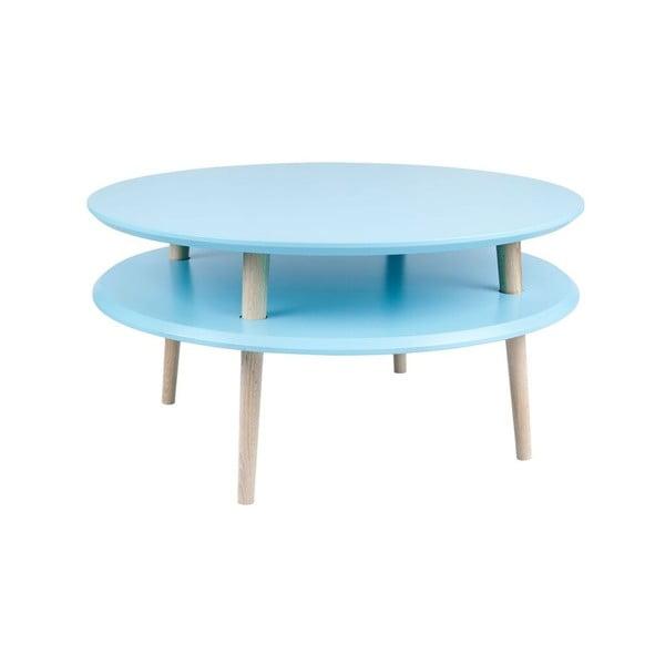 Konferenční stolek UFO 35x70 cm, modrý